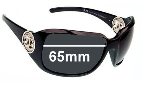 Sunglass Fix Replacement Lenses for Chanel 6023 - 65mm wide x 47mm tall