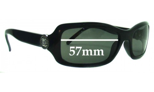 Chanel 6024 Replacement Sunglass Lenses - 57mm wide