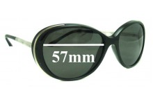 Chanel 6037 Replacement Sunglass Lenses - 57mm wide