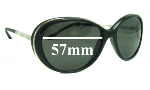 Chanel 6037 New Sunglass Lenses - 57mm wide