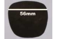 Christian Dior Replacement Sunglass Lenses 2218A - 56mm Wide
