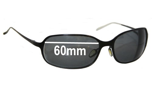 Christian Roth CR14241 Replacement Sunglass Lenses - 60mm Wide