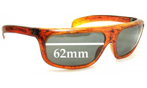 Cool Ray Confidential Replacement Sunglass Lenses - 62mm Wide