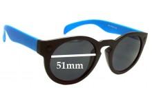 D-eye 603 Replacement Sunglass Lenses - 51mm Wide