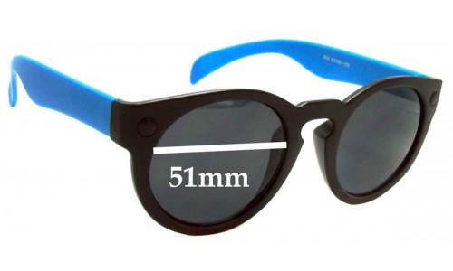 D-eye 603 New Sunglass Lenses - 51mm Wide