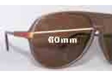 Dazed n Confused King Replacement Sunglass Lenses -60mm wide