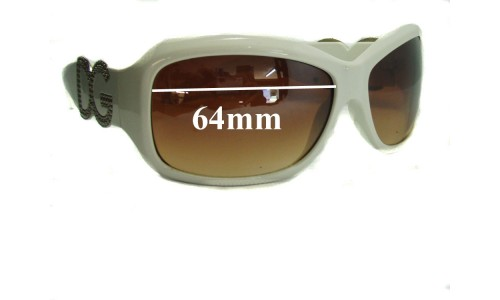 Dolce & Gabbana DG187 Replacement Sunglass Lenses- 64mm Wide