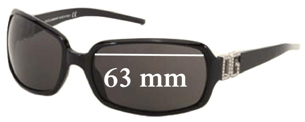 Dolce & Gabbana DG810S Replacement Sunglass Lenses- 63mm Wide