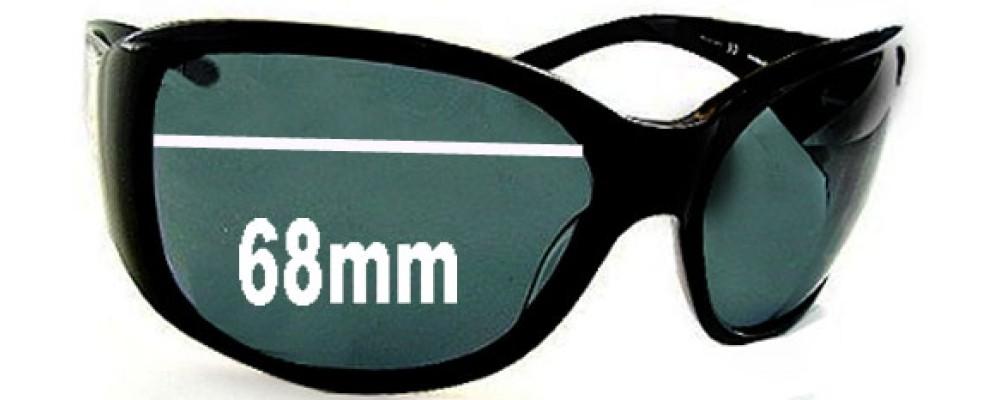Dolce & Gabbana DG3003 Replacement Sunglass Lenses- 68mm Wide