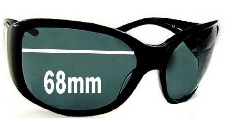 SFX Replacement Sunglass Lenses fits Dolce & Gabbana DG3003 68mm Wide  Sunglasses & Eyewear Accessories Men