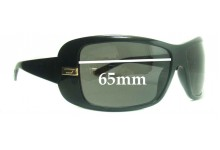 Diesel 0118 Replacement Sunglass Lenses - 65mm wide