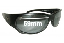 Diesel Osmos Replacement Sunglass Lenses - 59mm wide