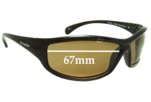 Dirty Dog Swivel Replacement Sunglass Lenses - 67MM wide