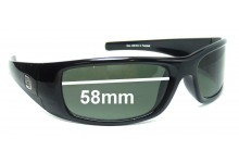 Dirty Dog Zora Replacement Sunglass Lenses - 58mm