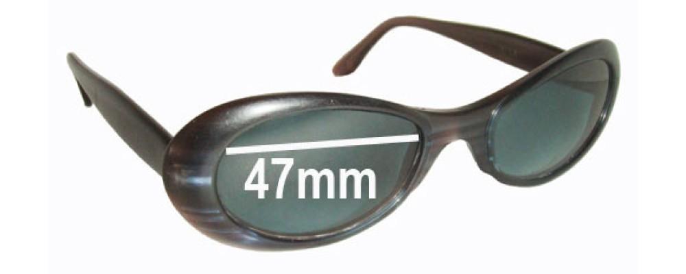 Dita Velvet Replacement Sunglass Lenses - 47mm wide