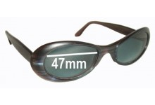 Dita Velvet Replacement Sunglass Lenses - 47mm wide