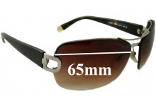 DKNY DY5063 Replacement Sunglass Lenses- 65mm Wide