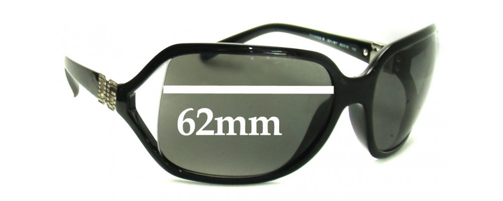 Dolce & Gabbana DG6003 Replacement Sunglass Lenses - 62mm Wide
