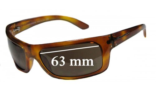 Dolce & Gabbana DG6021 Replacement Sunglass Lenses - 63mm Wide