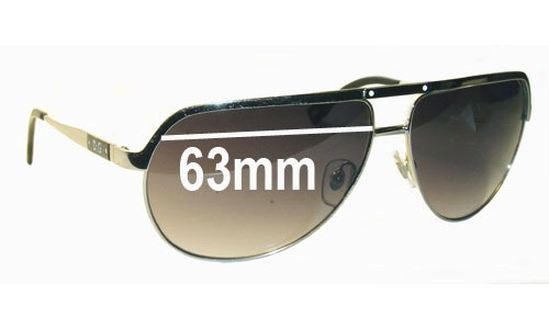 Dolce & Gabbana DD6065 Replacement Sunglass Lenses - 63mm wide