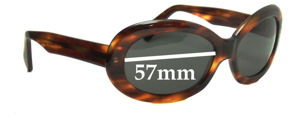 Dolce & Gabbana DG5145 Replacement Sunglass Lenses - 57mm wide