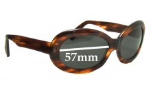 Dolce & Gabbana DG5145 Replacement Sunglass Lenses - 57mm wide