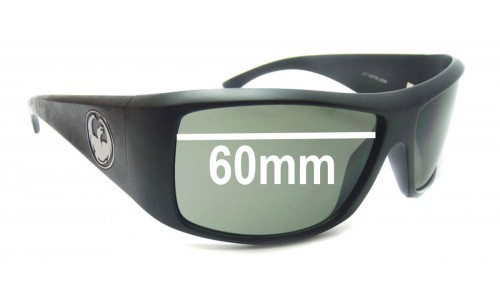 Dragon Calaca Replacement Sunglass Lenses - 60mm wide