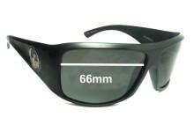 Dragon Calavera Replacement Sunglass Lenses- 66mm wide