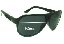 Dragon Experience 2 Replacement Sunglass Lenses - 62mm Wide