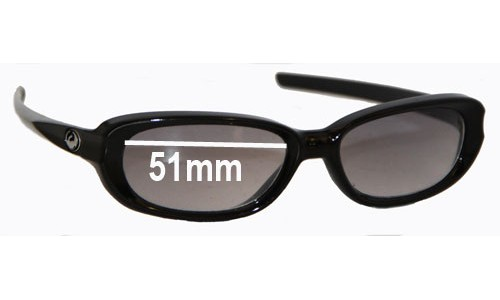 Dragon Mint Replacement Sunglass Lenses - 51mm Wide