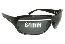 Sunglass Fix New Replacement Lenses for Dragon Repo - 64mm Wide