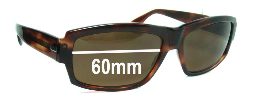ELCHE HAKIM Replacement Sunglass Lenses - 60mm Wide
