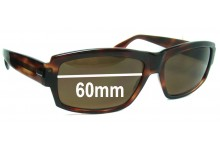 ELCHE HAKIM Replacement Sunglass Lenses - 60mm Wide