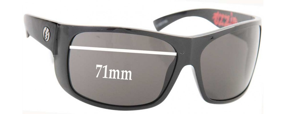 aa470e8ea3 Electric Blasters Replacement Lenses - 71MM WIDE