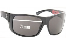 Sunglass Fix New Replacement Lenses for Electric Blasters - 71mm Wide