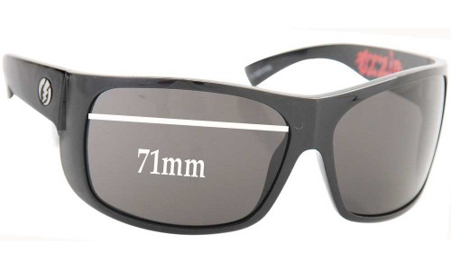 Electric Blasters Replacement Sunglass Lenses - 71MM WIDE