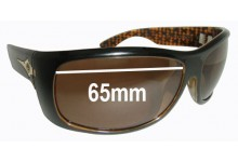 Sunglass Fix New Replacement Lenses for Electric Bourbon - 65mm Wide
