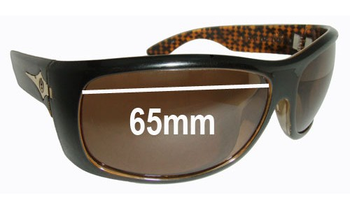 Electric Bourbon Replacement Sunglass Lenses - 65MM wide