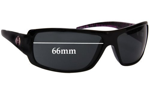 Sunglass Fix Replacement Lenses for Electric Charge - 66mm wide