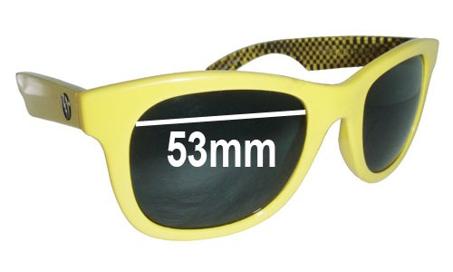 Electric Detroit Replacement Sunglass Lenses - 53MM wide