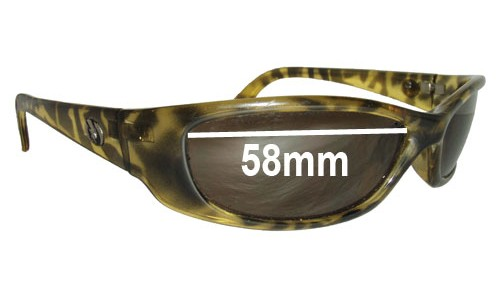 Electric Digit New Sunglass Lenses - 58MM wide