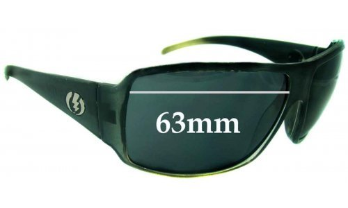 Electric Gain Replacement Sunglass Lenses - 63mm wide