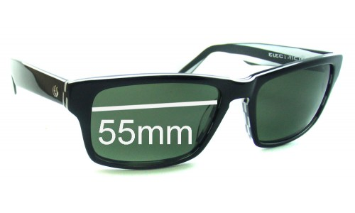 Electric Hard Knox Replacement Sunglass Lenses - 55mm Wide