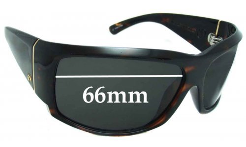 Electric Hoy Replacement Sunglass Lenses - 66MM WIDE