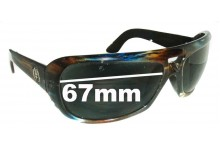 Electric Maxwell Replacement Sunglass Lenses - 67mm wide