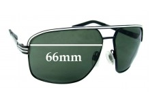 Sunglass Fix New Replacement Lenses for Electric Vegus - 66mm Wide