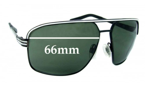 Electric Vegus Replacement Sunglass Lenses - 66mm Wide