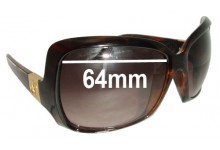 Sunglass Fix New Replacement Lenses for Electric Velveteen - 64mm Wide