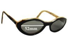 Escada E1116 Replacement Sunglass Lenses - 52mm Wide