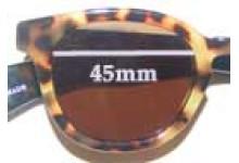 Eye Bob Half Wit New Sunglass Lenses - 45mm Wide